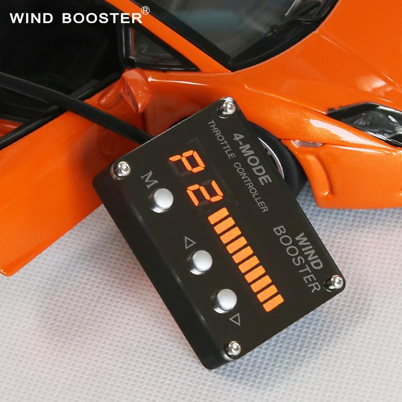 Camus y acelerador de la conversión de energía del acelerador electrónico de carreras de autos para la venta de paquetes de correo de la válvula de mariposa del controlador