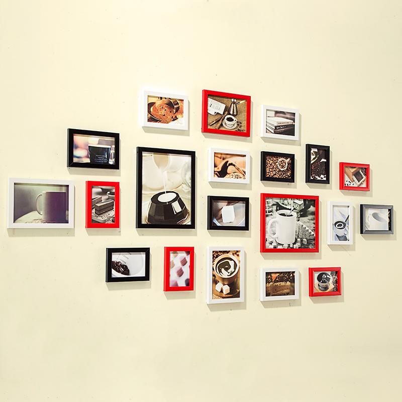 wand mit bilderrahmen alles ber wohndesign und m belideen. Black Bedroom Furniture Sets. Home Design Ideas