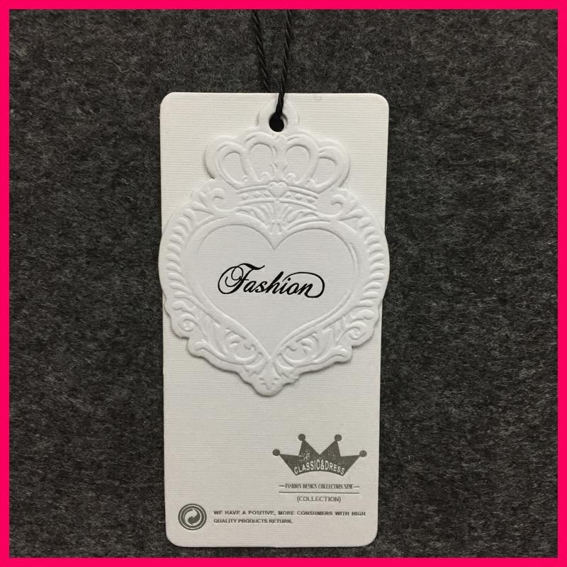 Настроить метки профильного одежду бирку одежды белая карточка воротник одежды стандартные индивидуальные заказ напшивка