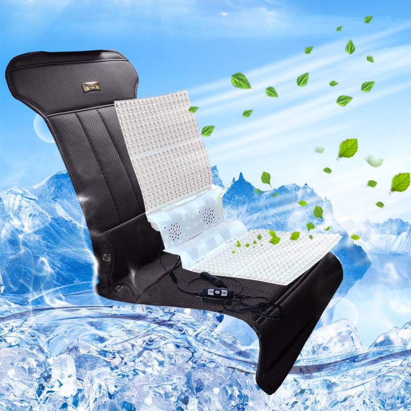 sõidukile paigaldatud jahutus - ja ventilatsiooniseadmed hõlmab posti fänn. suvel puhub õhku. 12v24v istme sõiduki istme padja kliimaseadmed