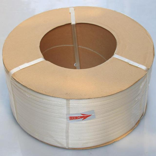 The packing belt is manually packed with adhesive tape, plastic strip, fully automatic transparent PP binding belt, and white machine is semi-automatic