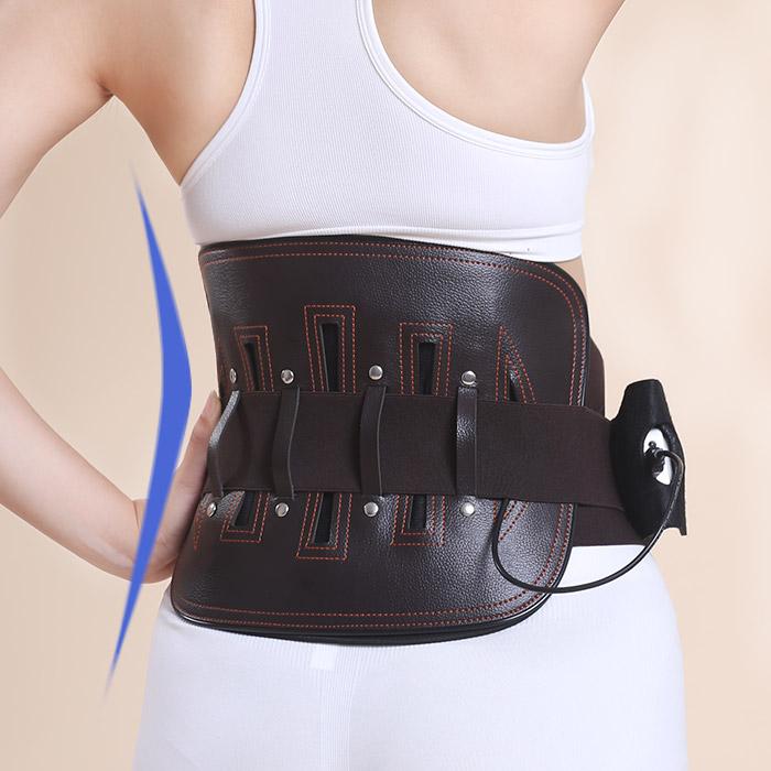 腰椎は、遠赤外線充電で、男女のウエスト電熱電熱ベルトを保温に固定して
