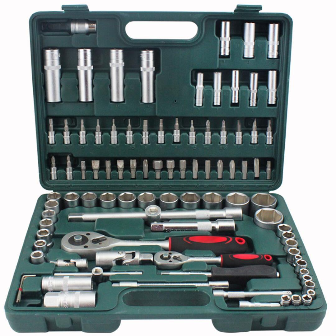 A group of head sleeve LE-BOW94 Libo ratchet wrench set auto repair auto repair hardware kit