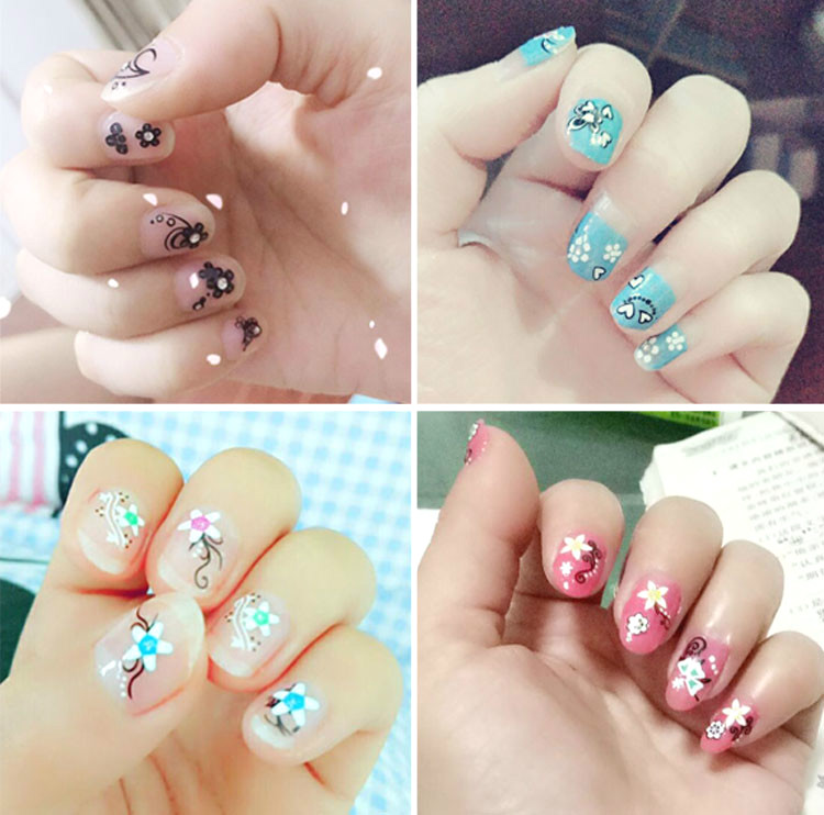 Manicure kit phototherapy machine accessories false nail oil glue Decal Sticker do pattern masking tape awesome