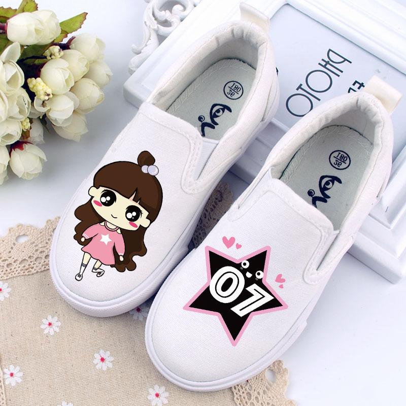 儿童鞋帆布鞋子女童鞋