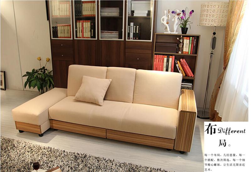 多功能沙发床布艺沙发小户型储物日式沙发可折叠特价sofa可定制