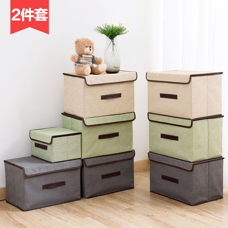 Non-woven Folding Storage Box With Cover
