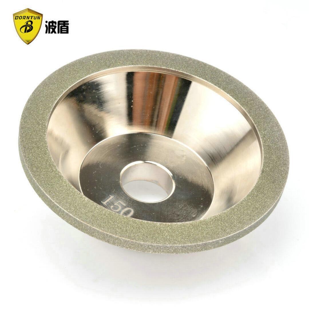 Wave - Schild diamant - legierung Schüssel - Rad diamant - Rad 100D*10W*5U*20H*3 Wolfram schärfen