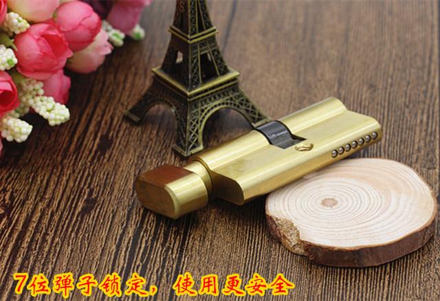 زجاج الباب قفل قفل الخاص الأساسية زجاج الباب قفل رافعة كبيرة 60mm مركز مزدوجة الوجهين قفل الأساسية