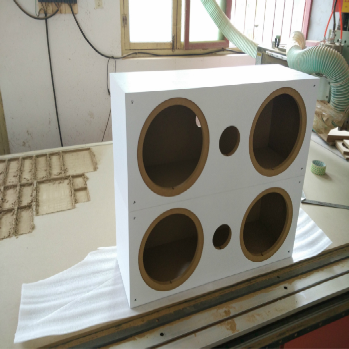 15 woofer le labyrinthe de boîte sur mesure de l'étagère vide de l'enceinte de haut - parleur Bass 12 810