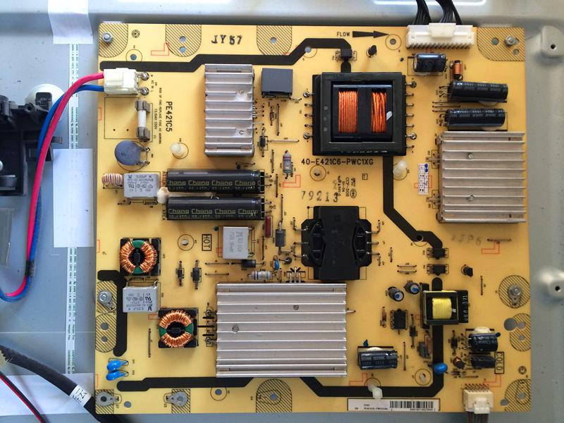 tcl lcd телевизор L55F3500A-3D енергиен съвет 81-PE421C6-PL200AA компютърна платка