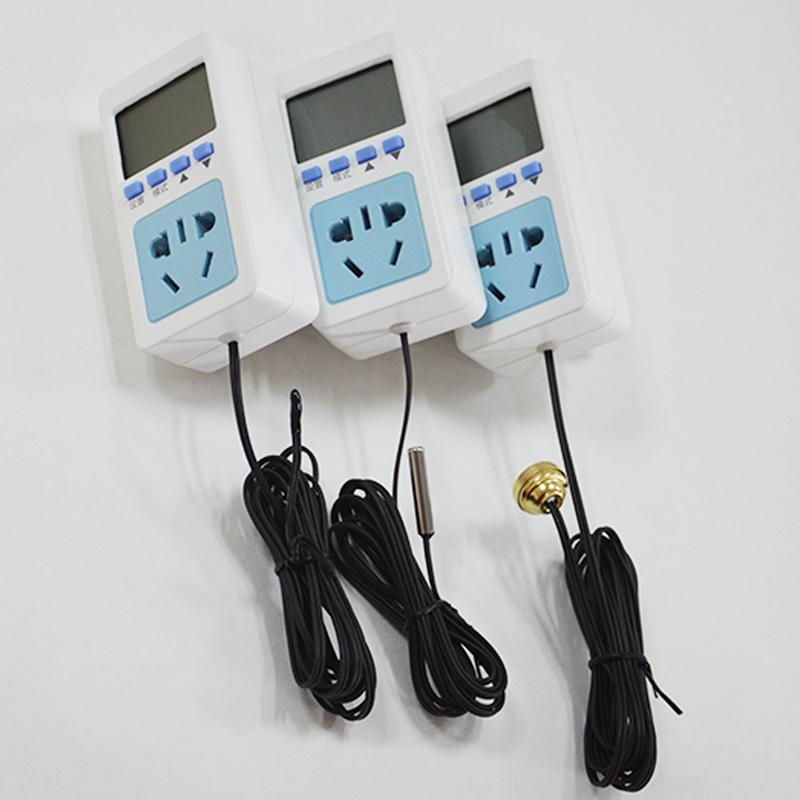 전자 控温 소켓 数显 마이크로컴퓨터 지능 온도 제어 장치 온도 제어 스위치 온도 제어 소켓 T18