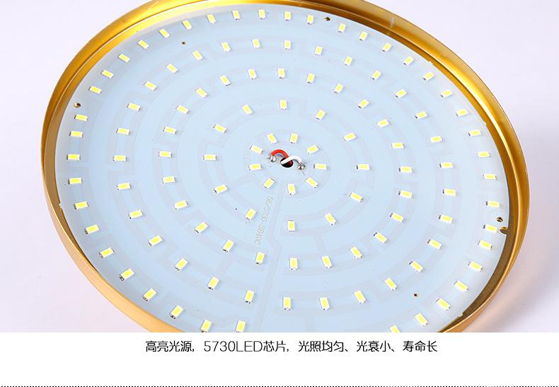 โคมไฟแขวนเพดานหลอดไฟ 220V / พลังงานขนาดใหญ่เพดานสูง 60w27 จานบินพลังงานการประหยัดพลังงานแสงสว่าง