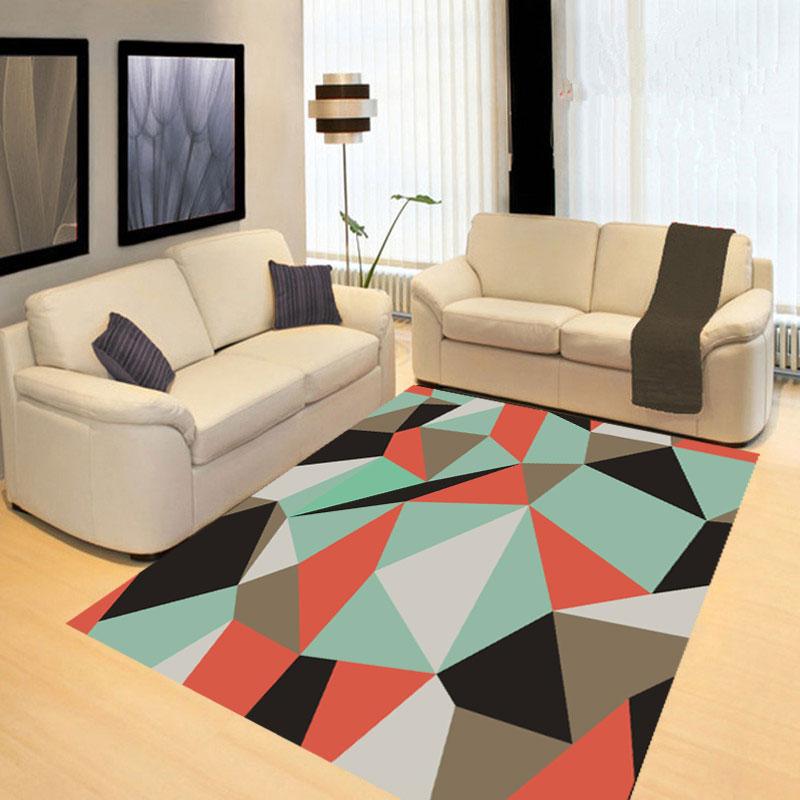 北欧イケアカーペット応接ルーム、欧風現代ソファ、ベッドルーム、家庭用のカーペット