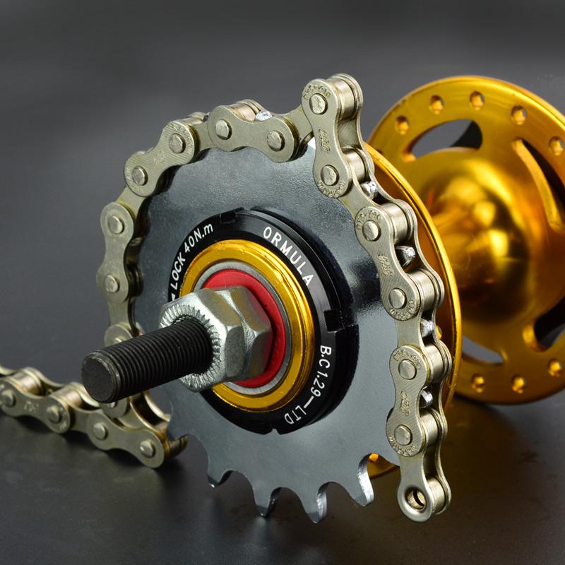 La muerte de volar la cadena cadena de bicicleta coche cuna de óxido de las damas en bicicleta de una velocidad de transmisión universal de la cadena