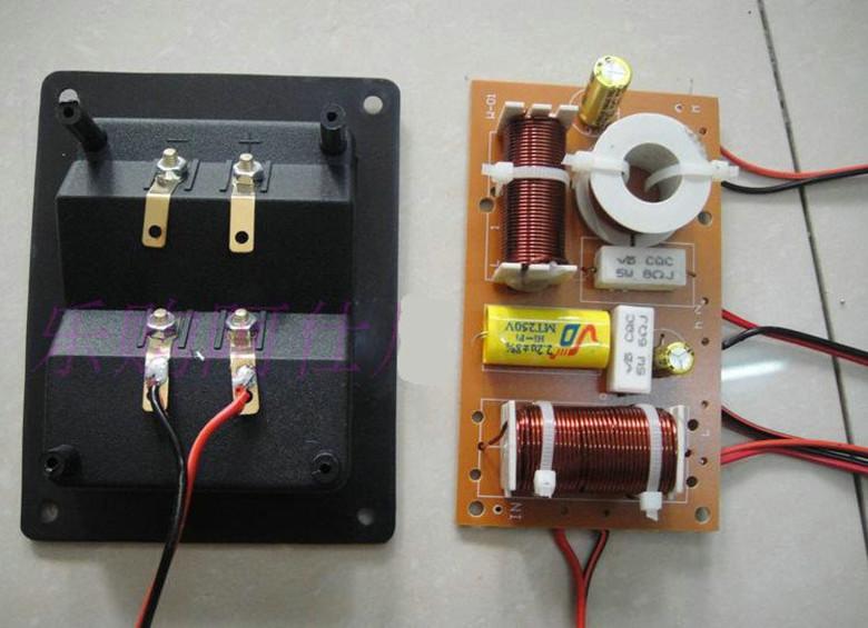 Double 8 inch 2 high school low three frequency bookshelf H woody passive sound box floor sound