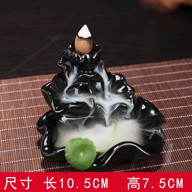 ароматный чай питомца керамические фиолетовый творческих Садо Ароматерапия домашнего украшения вспять потока проточной воды сандалового дерева кадило ладан