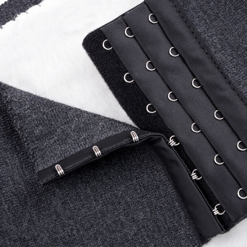 Cashmere waist warm lumbar disc thickening Nuangong hair patch hanging buckle protects the waist stomach for male and female