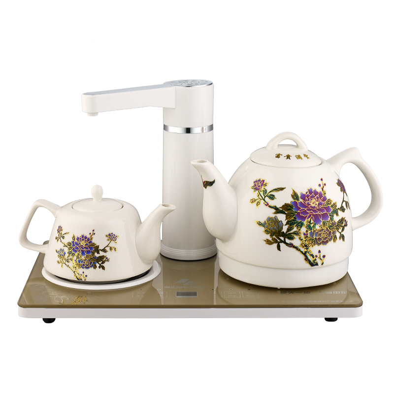 Calderas de agua caliente tetera hirviendo agua potable de aislamiento eléctrico de los aparatos de uso doméstico automático de cerámica termo con té caliente