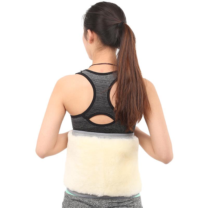 One strain lumbar skin, wool warmth, waist belt, waist thickening, waist belt and waist belt