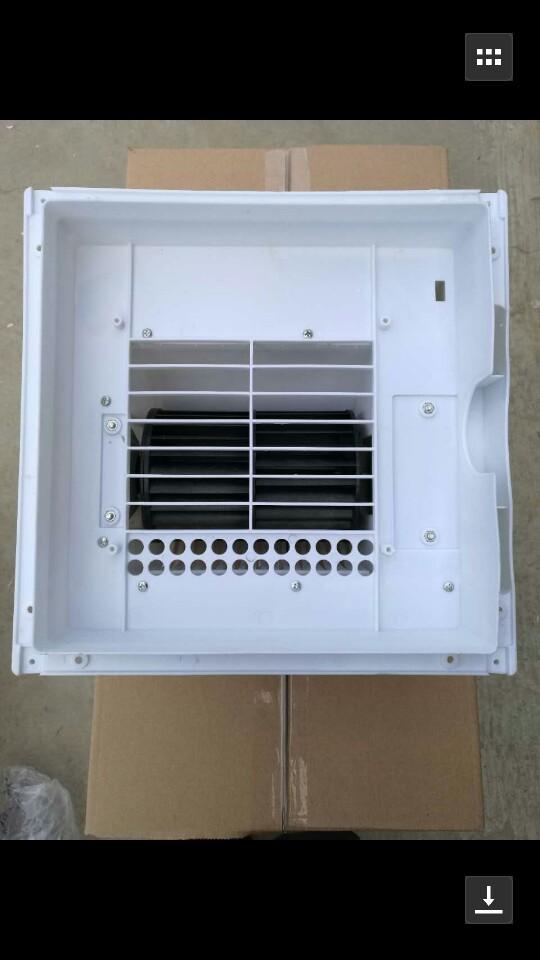Ο κρύος αέρας φυσάει πολύ κρύο στην κουζίνα ανώτατο όριο ολοκλήρωσης ανεμιστήρα υγείας κουζίνα φαν της γκέιλ, δωμάτιο κρύο αέρα.
