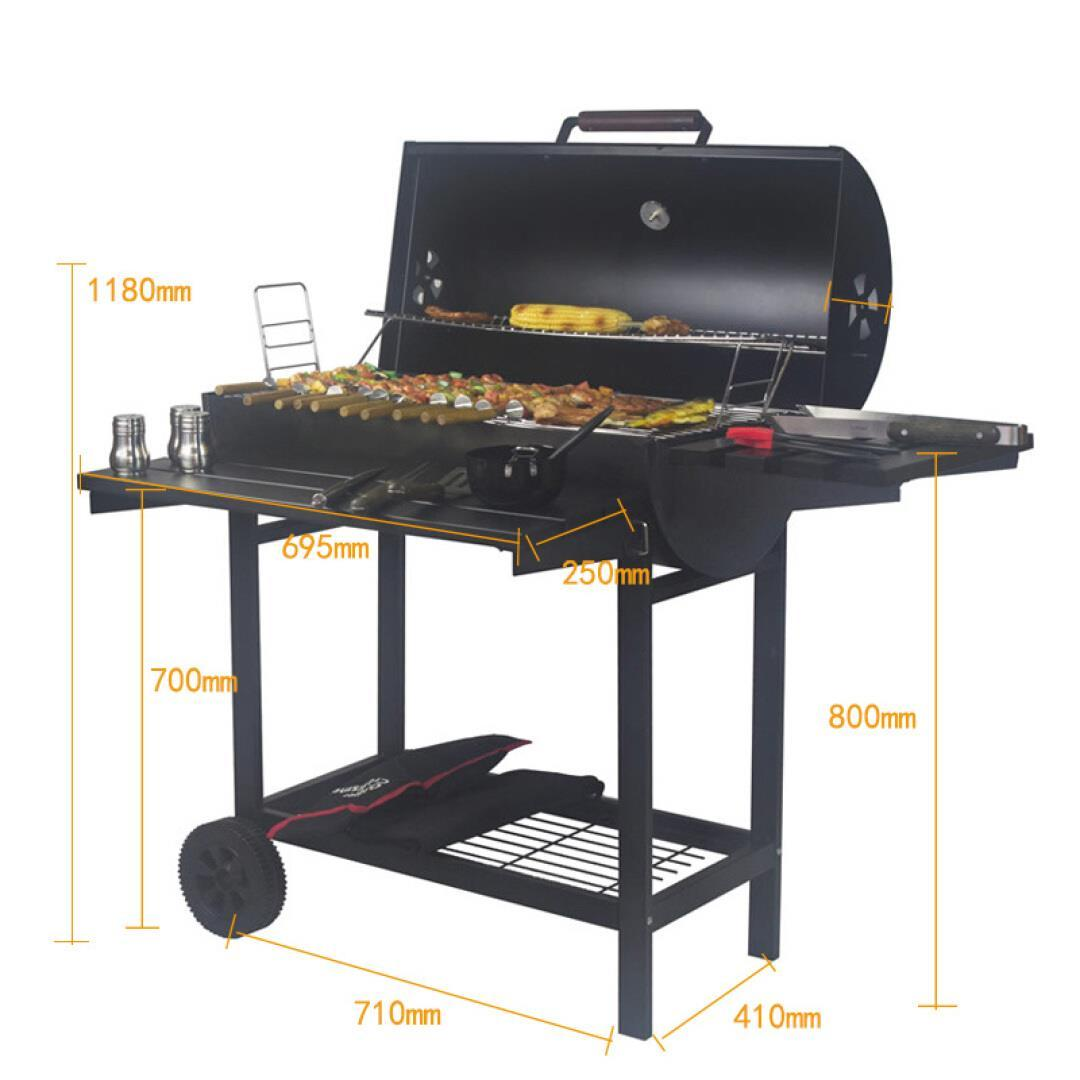 Outdoor barbecue craftsmen more than 5 home barbecue charcoal Garden commercial large American stew