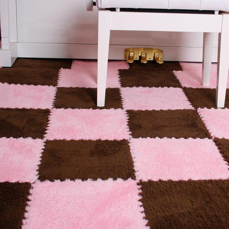 Children's plush carpet mosaic foam mat bedroom floor mat crawling pad sponge tatami puzzle