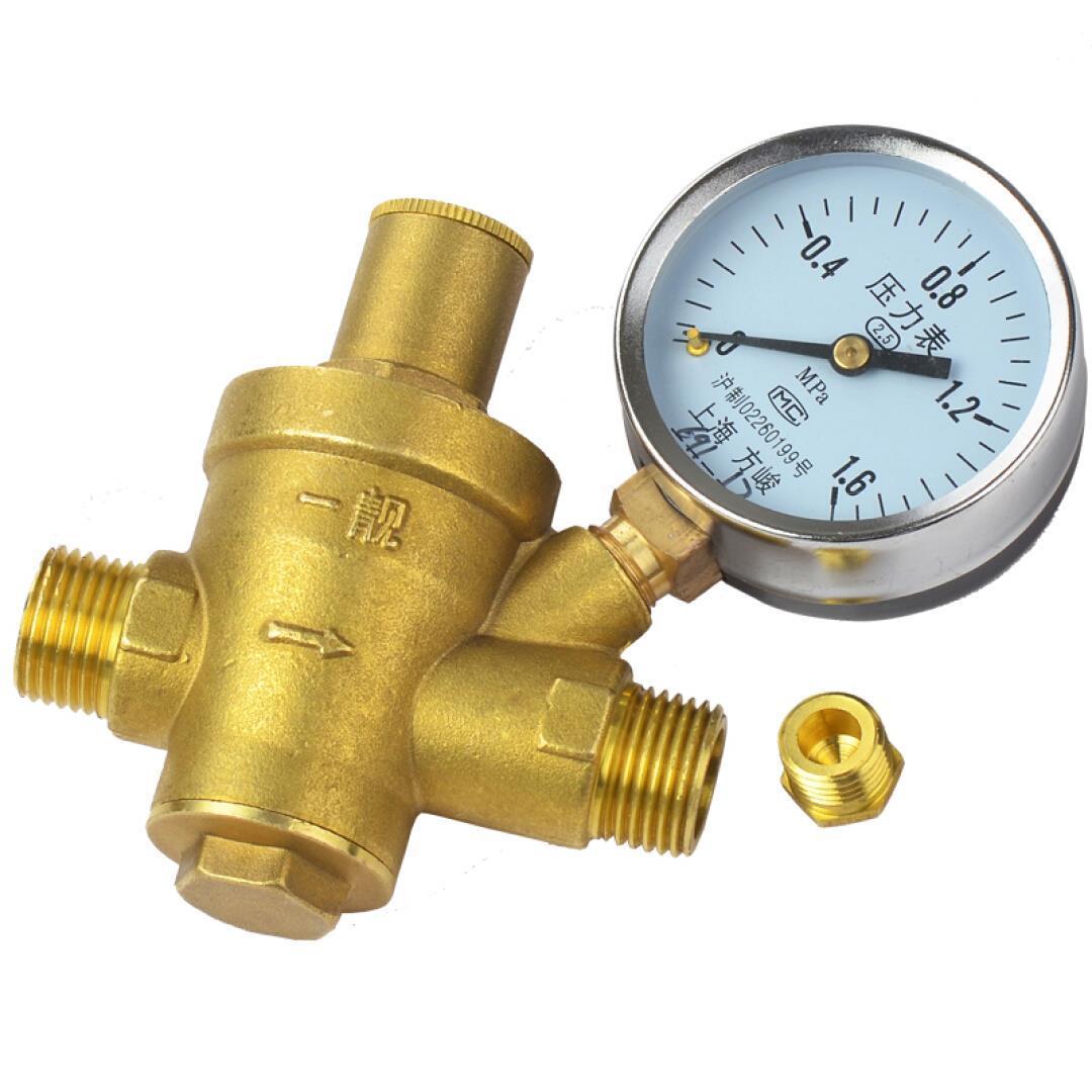 4: el hogar del agua la válvula de alivio de presión Válvula de calentador de agua purificador de agua con 4 puntos de seda con la presión de la válvula de descompresión