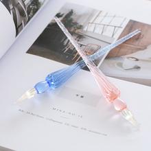 签字笔盒水包艺术玻璃手工制作色创意其他特色笔工艺品工艺品特色