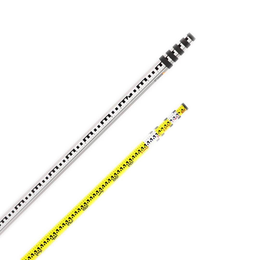卓林เทคโนโลยีวัดหอเท้าอลูมิเนียมอัลลอยไม้บรรทัดฟุตหอเท้า 5 มิตะ