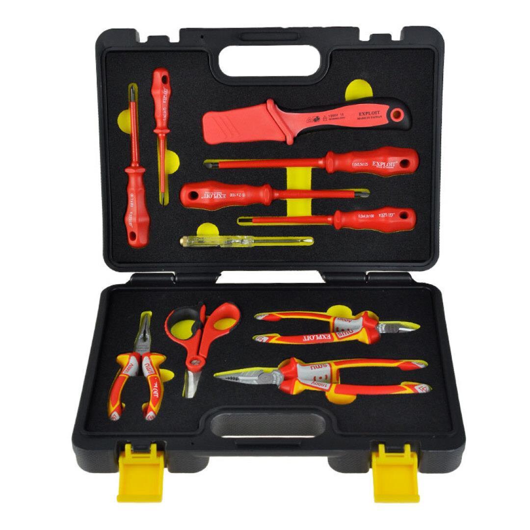 Le importazioni di uno strumento completo Isolamento elettrico / Set di strumenti di taglio la cassetta degli attrezzi 224220-zh accusato in Germania.