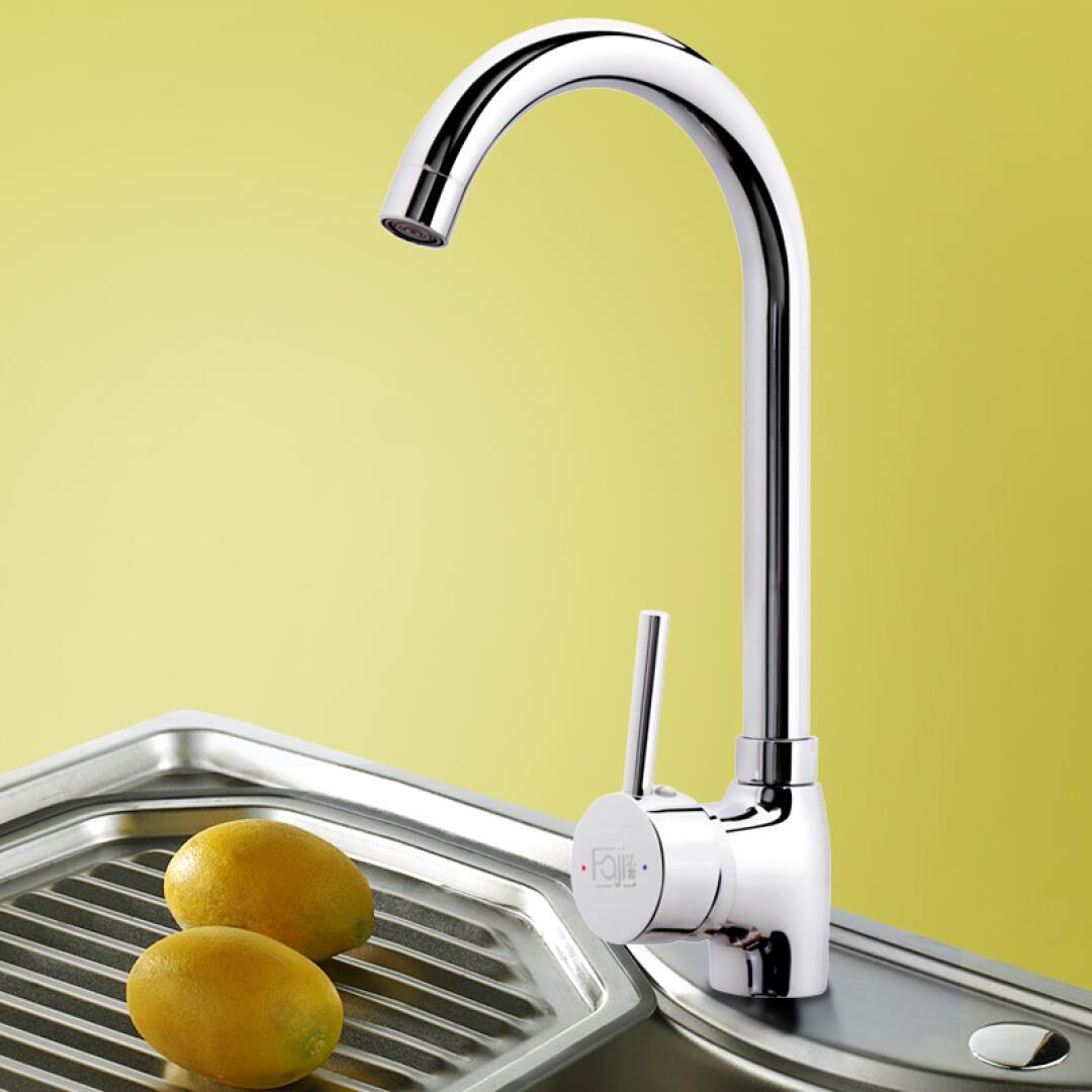 FaJi (метод одного набора) HB5122-S холодной и горячей кухне кран керамические основного роторный воды