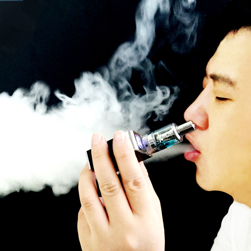 Pressure regulating Mini charging rod, big smoke smoke, clear lung steam smoke tool, smoking cessation, electronic smoke fine rod