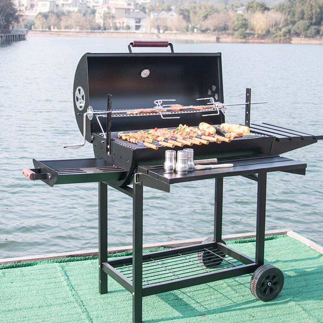 アウトドア職人バーベキュー炉ご人以上の家庭用炭焼き機庭商用チューバアメリカン煮