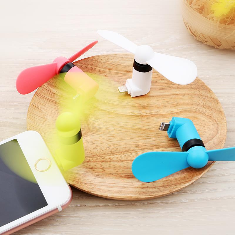 Mini handheld mobile phone USB refrigeration air conditioning fan small portable rechargeable dormitory