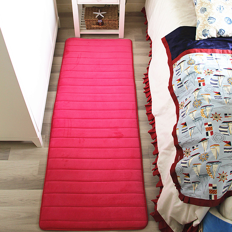 The baby fall proof mat room household bedroom bedside rug slip thick rectangular tatami sound insulation pad