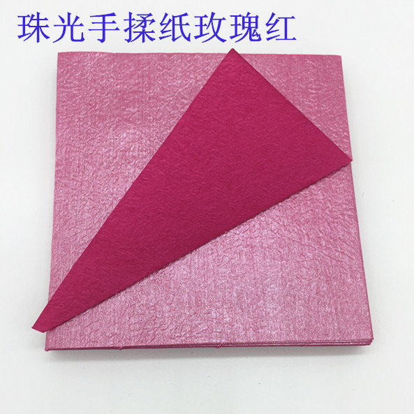 Monochrome Kawasaki rose gift origami origami flower material pearl knead paper corrugated paper box for 15cm
