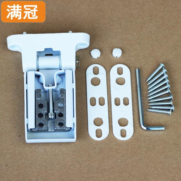 Plastic steel door and window hinge plastic steel flat door hinge, window hinge hinge adjustable aluminum plastic steel hinge fittings