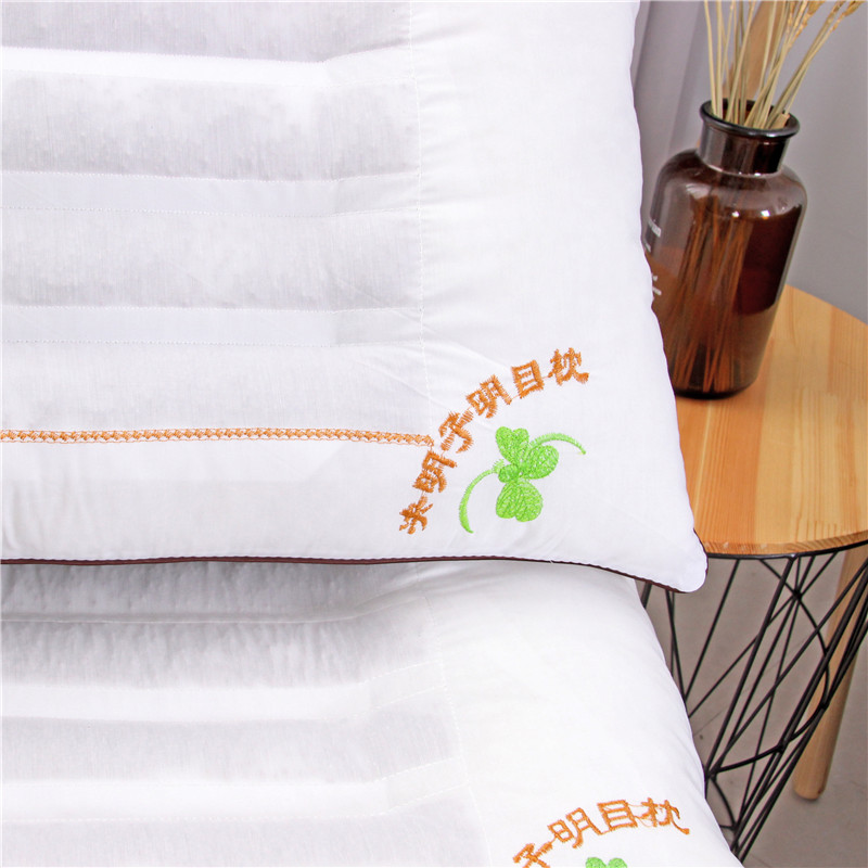 枕枕ケツメイシ真珠綿に撮影に成人の頸椎のマッサージ保健護頚枕シングル定型