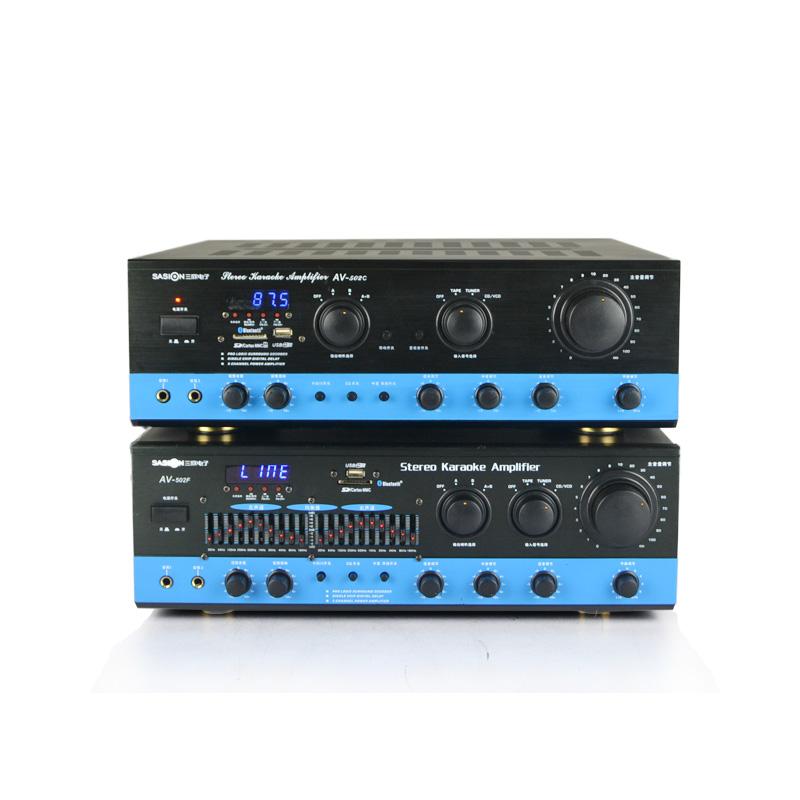 av-502c de uz casnic 1 de mare putere, o clasă de amplificare ktv scena de sunet.