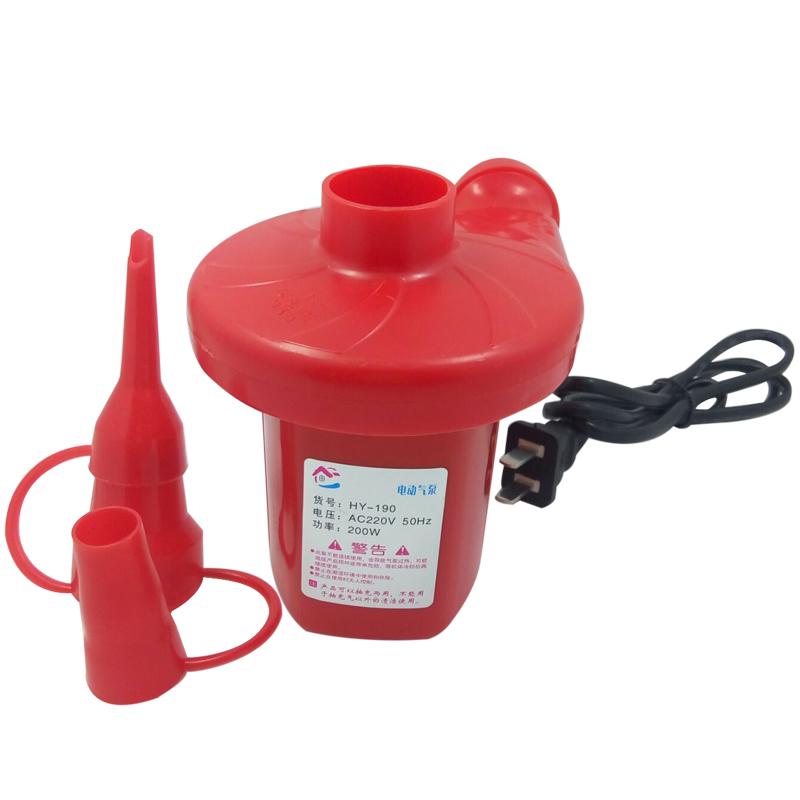 електрическа помпа електрическа помпа със сак, съдържащ специално вакуум домакински въздушна възглавница в леглото с инфлацията.