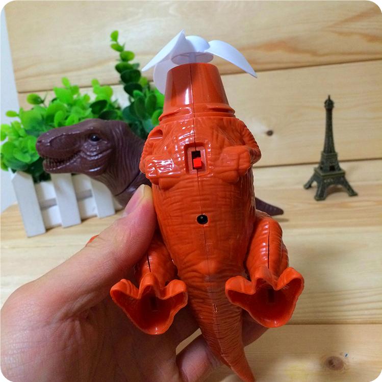 dinozaurii rex cadouri creative fan de încărcare electrică cu băiatul de jucărie pentru copii - -