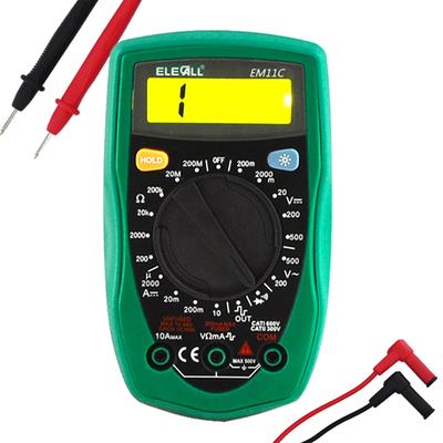 الرقمية مقياس رقمي متعدد جيب التلقائي تدفق عالية الدقة مصغرة مصغرة المنزلية ذكية مقياس التيار الكهربائي