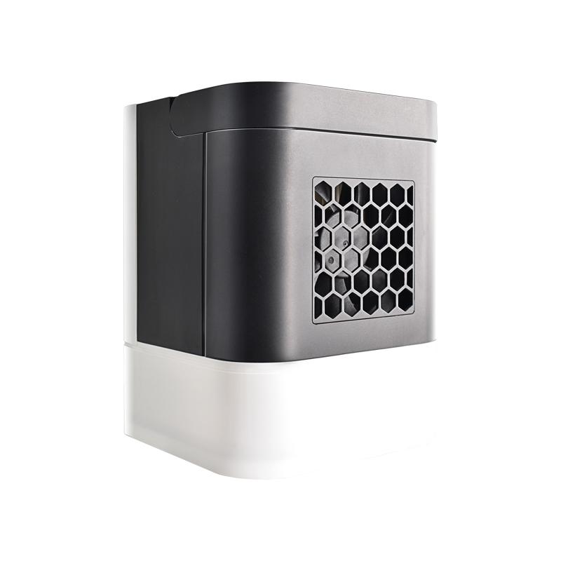 No verão a temperatura de ar condicionado dormitório dormitório pequeno Mini ventilador de refrigeração portátil portátil recarregável Mini CAMA