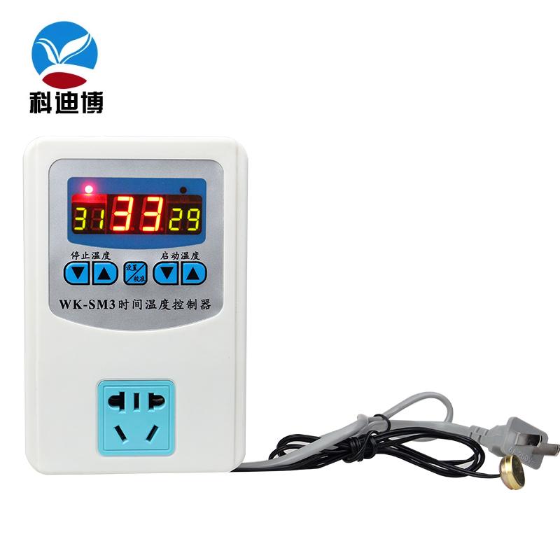 Commande électronique de température de prise d'un micro - ordinateur de thermostat intelligent de contrôleur de commutateur de démarrage à basse température à une température élevée