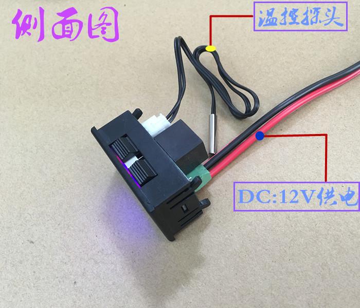 Termostato electrónico digital inteligente controlador de temperatura termostato ajustável para o controle de temperatura digital