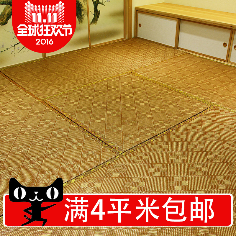 Yi Ting tatami mats and custom rattan seats mattress m Japanese platform customized coconut coir mat mat