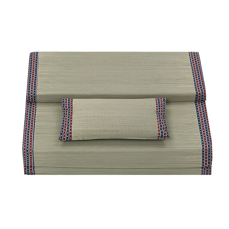 Tatami folding mat rush crawling pad summer Japanese floor double mattress pad thickening custom