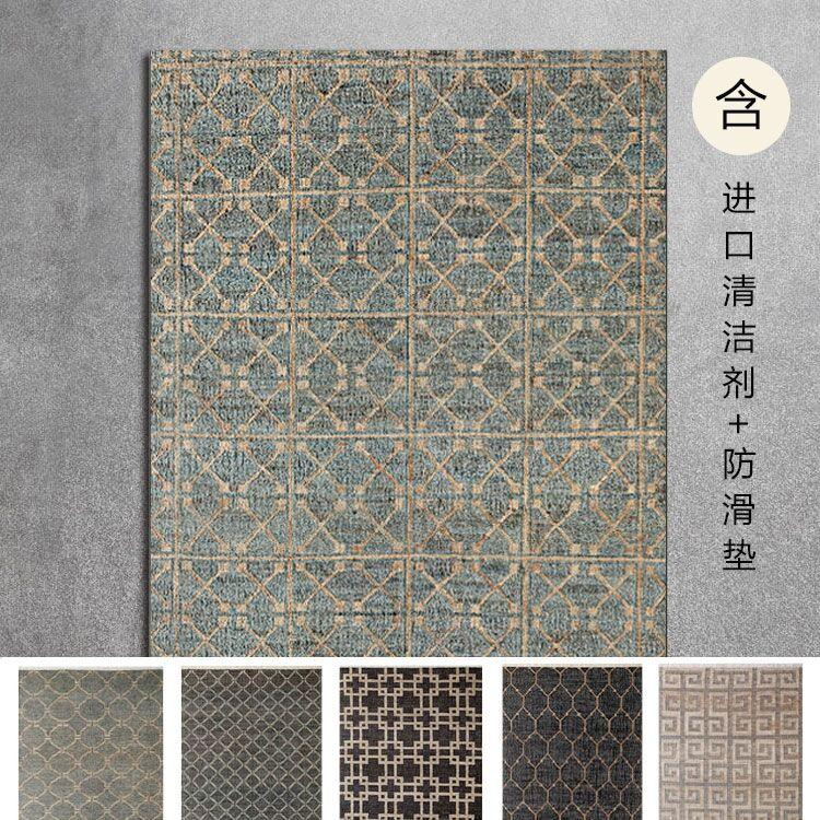 85 especial unires India de lino tejido a mano de sisal de entrada no Salón alfombras de yute de diente de León