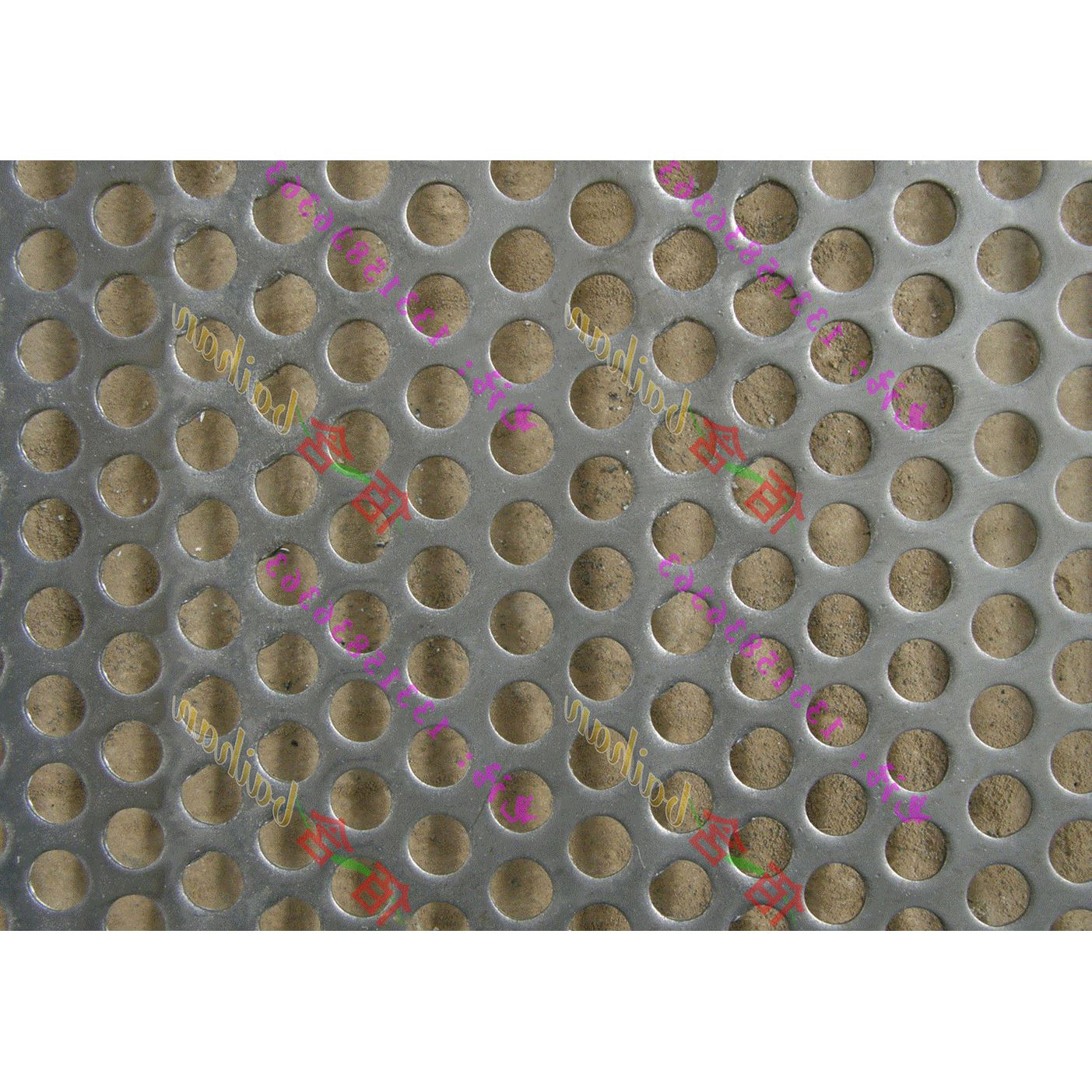 Custom-made 304 stainless steel circular hole mesh plate porous plate sound absorbing mesh punching plate microporous screen plate screen plate